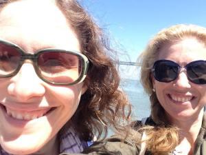Sara and me