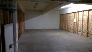 empty basement space