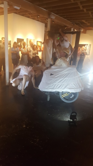 Bandelion performs at Thinkspace Gallery